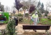 Desinfección parques y jardines