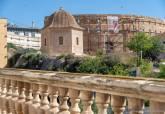 Zona del Anfiteatro Romano en el entorno del Pabellón de Autopsias que ha acordado registrar el Ayuntamiento