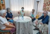 Agradecimiento a Consuelo, Petri e Isabel, tres últimas monjas de la Sagrada Familia de Burdeos en Los Mateos, por su labor en el barrio