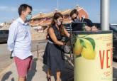 Compactadora de latas en Cabo de Palos