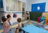 Primer día de clase en las Escuelas Infantiles