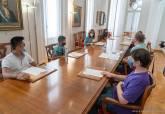 Visita alumnos colegio Asomada proyecto Mar Menor