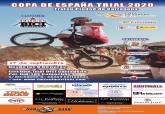 Cartel Circuito de Trial Bici Cartagena