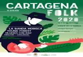 Cartel Folk Cartagena
