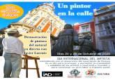 Cartagena celebra el Día del Artista con la iniciativa 'Un pintor en la calle'