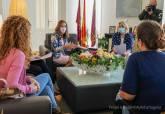 Reunión con los representantes de la Plataforma Colegio de La Aljorra