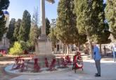 Festividad de Todos los Santos en el cementerio de Los Remedios en Santa Lucía