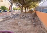 Visita a las obras de al calle Ingeniero de la Cierva