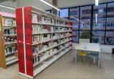 Instalación del nuevo mobiliario en las bibliotecas municipales Josefina Soria, Rafael Rubio y Alfonso Carrión Inglés