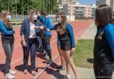 Recepción oficial de la vicealcaldesa a los medallistas de los Campeonatos de España del Club UCAM Atletismo Cartagena