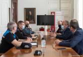 Reunión para dispositivo de Seguridad durante el fin de semana