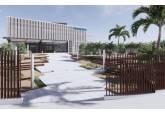 Recreación del futuro edificio de Ibermutuamur