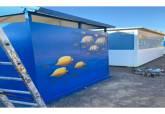 Mobiliario urbano en las playas