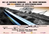 Cartel de la exposición 'De la Sierra Minera... al Mar Menor: entrenando la sostenibilidad'