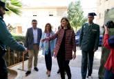Imagen de archivo de la visita de la secretaria de Estado de Seguridad, Ana María Botella, al cuartel de la Guardia Civil de Cartagena