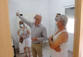 Visita a las obras del consultorio de El Albujón, que estará operativo en septiembre