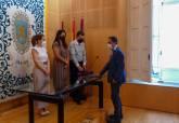 Toma de posesión de ingeniero agrónomo y técnico superior de nuevas tecnologías en el Ayuntamiento de Cartagena