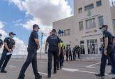 Visita de aspirantes a policías locales de la Región a la ESPAC de Cartagena