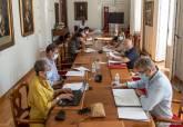 Reunión de la Junta de Gobierno Local y posterior comparecencia ante los medios