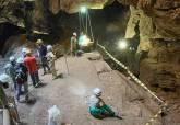 Trabajos en Cueva Victoria