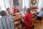 Reunión en el Palacio Consistorial.