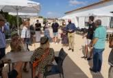 Reapertura de la cantina del local social de Isla Plana