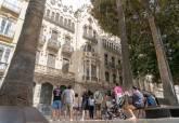 Casa Maestre, en la plaza San Francisco, uno de los edificios que han sido requeridos por Urbanismo.