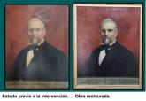 Antes y después de los cuadros.