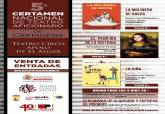 Cartel del Certamen Nacional de Teatro de Aficionado