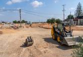 Obras accesos colegio de La Aljorra