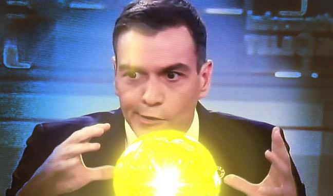 Pedro Sánchez futurólogo