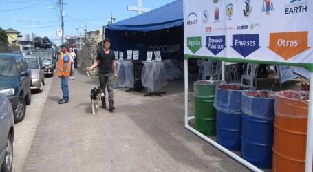 Ecoromería con 40 puestos de reciclaje