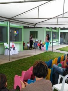 Los centros de cuido atienden a la población infanti desde los 0 hasta los 6 años. Foto: Municipalidad del Guarco