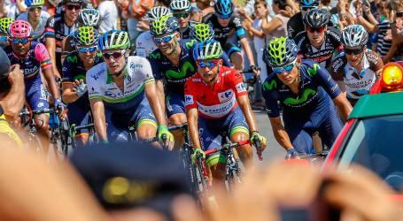 Andrey Amador a 17s del ganador de 5 etapa de la Vuelta a España