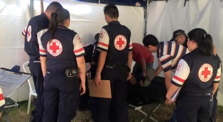 Cruz Roja atendió 2958 personas en la Romería
