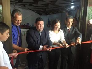 A la inauguración de Magmática acudió el alcalde de Oreamuno José Francisco Huertas y el alcalde de Cartago Rolando Rodríguez. Foto: Cartago Hoy.