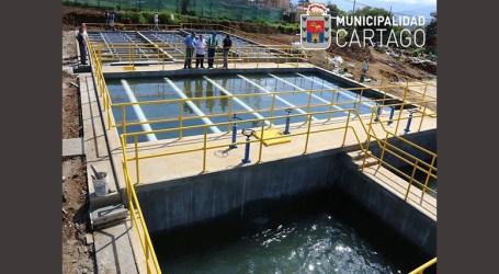 Nuevo modulo de potabilización dará más agua a los cartagineses