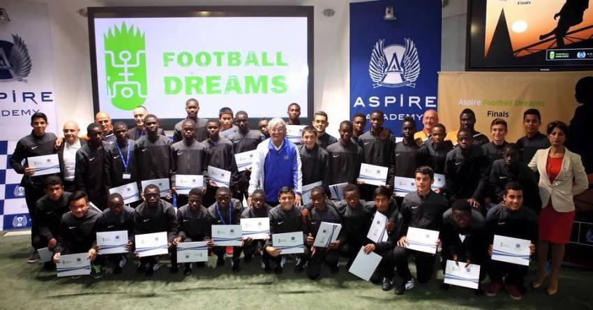 Molina participó en Qatar junto a jóvenes promesas del fútbol de todo el mundo.