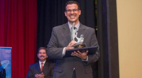 Alejandro Arley, premiado periodista cartaginés