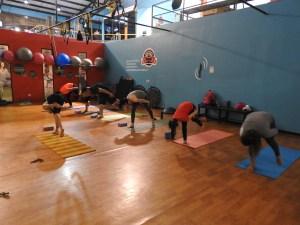 Club de Yoga del Gym Up