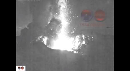 Volcán Turrialba registró gran erupción de ceniza y rocas incandecentes esta madrugada
