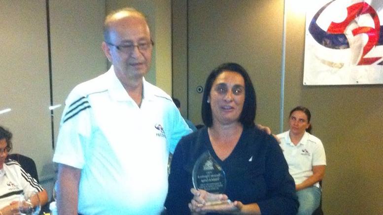 Marta ha recibido varios reconocimientos por su labor en el deporte de Cartago.