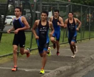 El CCDRCartago es el cantón con más atletas clasificados en triatlón.