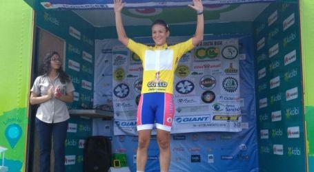 María Vargas gana primer etapa de la Vuelta Juvenil