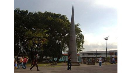 Municipalidad de Cartago quitará obelisco y lo sustituirá por un monumento precolombino