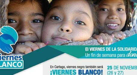 Sea solidario, apoye el Viernes Blanco
