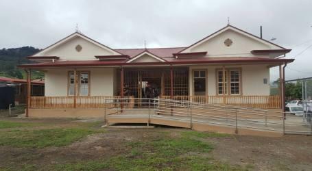 Escuela en el cantón del Guarco recuperó su aspecto original