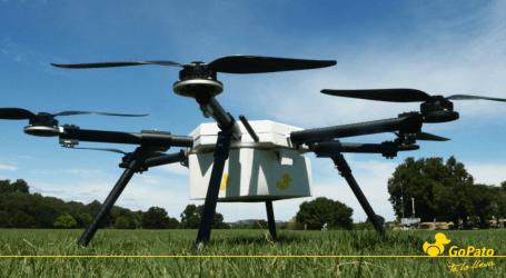 Drones entregarán comida express en Cartago