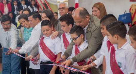 Cartagineses reciben tres infraestructuras educativas con mejores condiciones