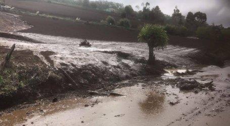 Cabeza de agua afectó zona norte de Cartago